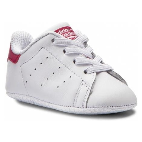 Buty adidas - Stan Smith Crib S82618 Ftwwht/Ftwwht/Bopink