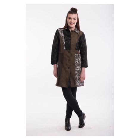 Orientique płaszcz Coat Collared Olive