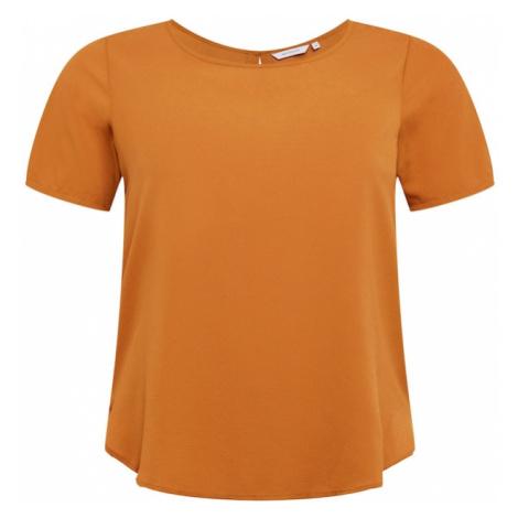 ONLY Carmakoma Koszulka pomarańczowy