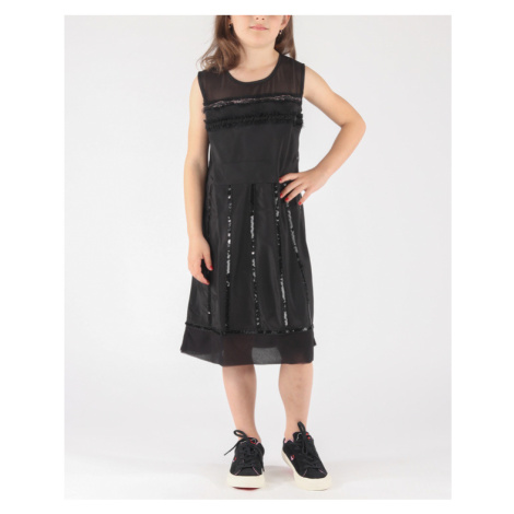 Diesel Duanna Sukienka dziecięca Czarny