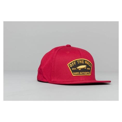 Vans Trask Snapback Hat Rhumba Red