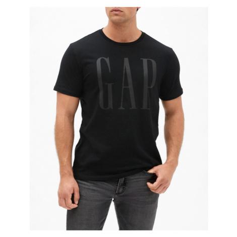 GAP Logo Koszulka Czarny