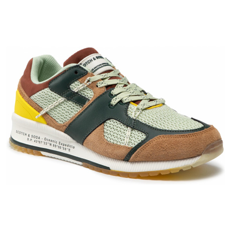 Sneakersy SCOTCH & SODA - Vivex 22839772 Green Multi S771
