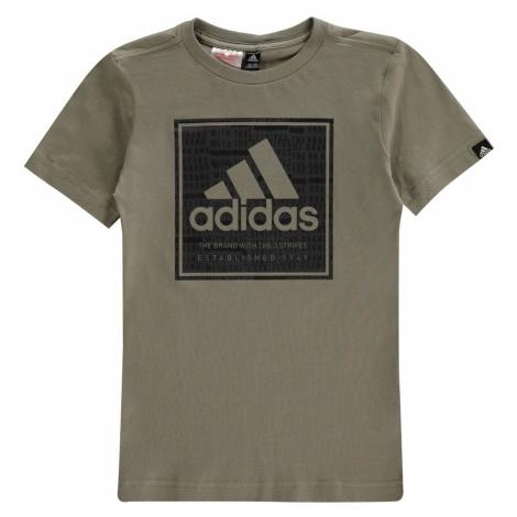 Adidas Hacked Roots T Shirt Junior Boys