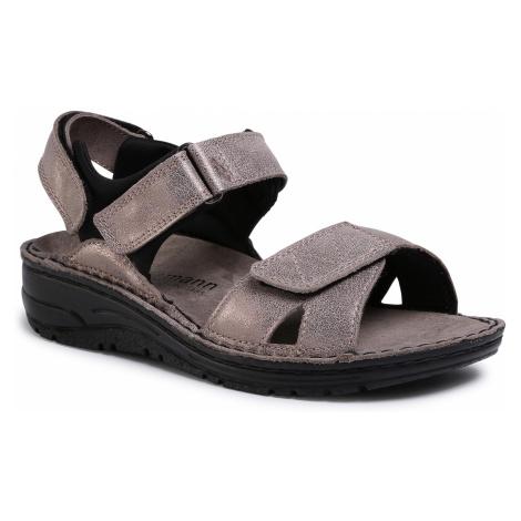 Sandały BERKEMANN - Neele 03116 Bronze/Glitter 429