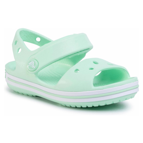 Sandały CROCS - Crocband Sandal Kids 12856 Neo Mint