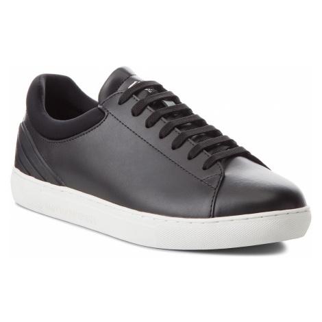 Sneakersy EMPORIO ARMANI - X4X224 XL459 A544 Black/Matt Black