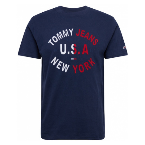 Tommy Jeans Koszulka granatowy Tommy Hilfiger