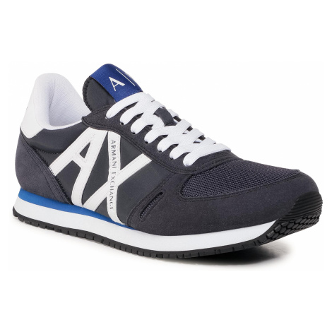 Sneakersy ARMANI EXCHANGE - XUX017 XCC68 K487 Navy/Op.White