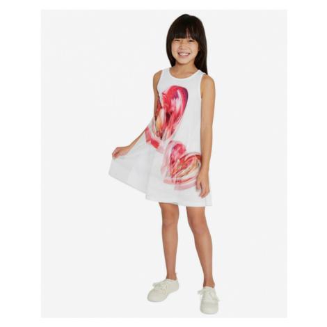 Desigual Leticia Sukienka dziecięca Biały