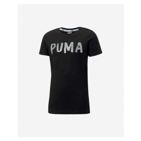 Puma Alpha Koszulka dziecięce Czarny