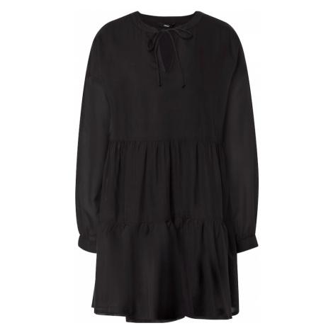 ONLY Sukienka koszulowa 'AGGY' czarny