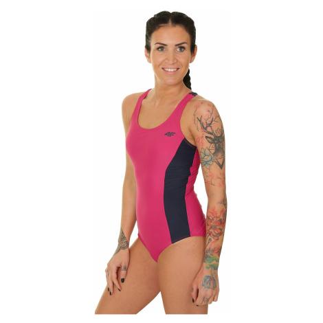 strój kąpielowy 4F H4L19-KOSP001 - 53S/Dark Pink