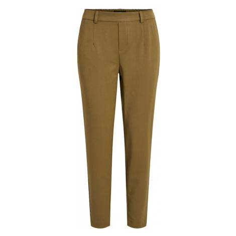 OBJECT Spodnie oliwkowy