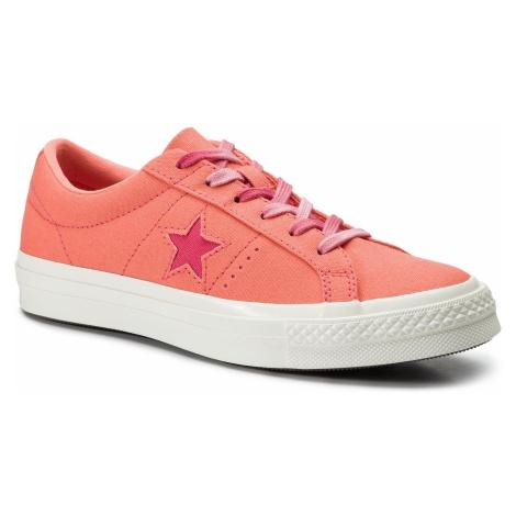 Tenisówki CONVERSE - One Star Ox 564152C Turf Orange/Strawberry Jam