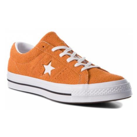 Converse Tenisówki One Star Ox 161574C Pomarańczowy