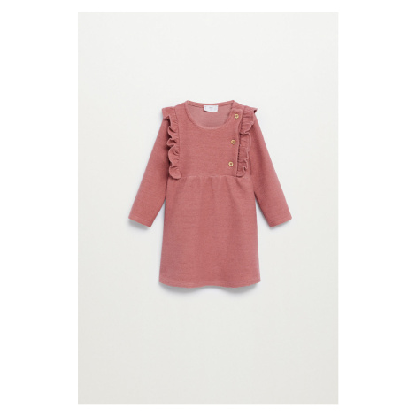 Mango Kids - Sukienka dziecięca Mini 80-104 cm