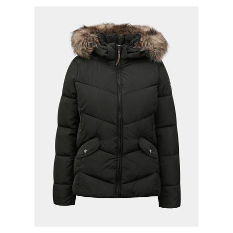 Only czarna kurtka zimowa Roona