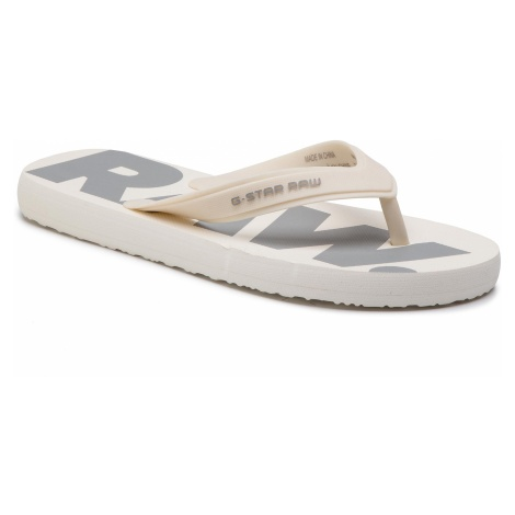Japonki G-STAR RAW - Dend D14914-3593-A539 White/Industrial Grey