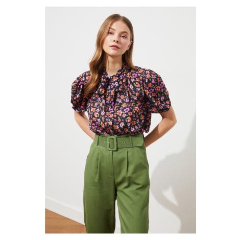 Modsolo Multicolor Koszula z nadrukiem Trendyol