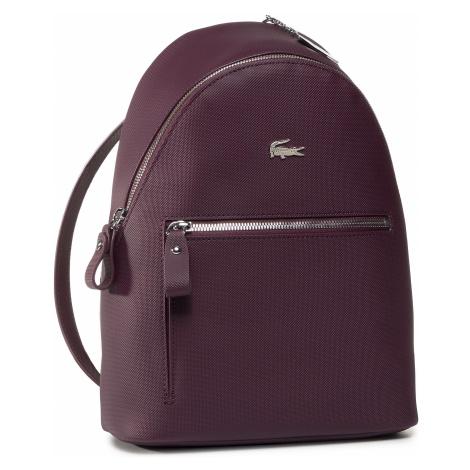 Plecak LACOSTE - Backpack NF2773DC Grape Wine D49