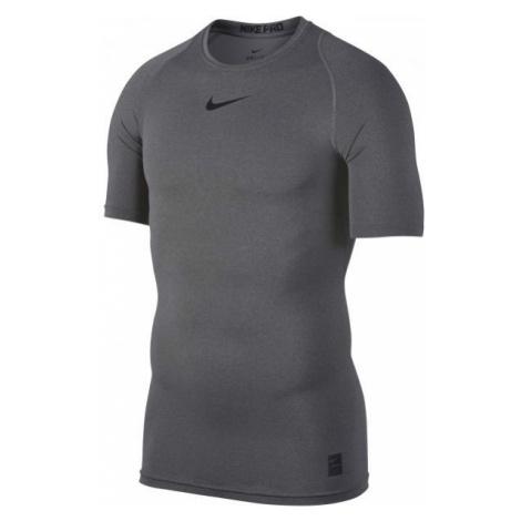 Nike PRO TOP ciemnoszary M - Koszulka męska