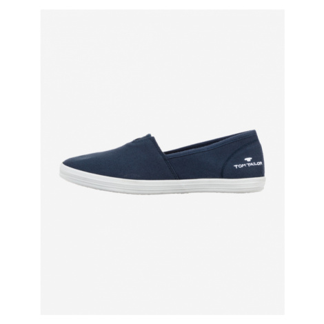 Tom Tailor Slip On Buty Niebieski