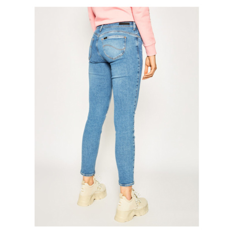 Lee Jeansy Skinny Fit Scarlett L506MXAY Niebieski Skinny Fit