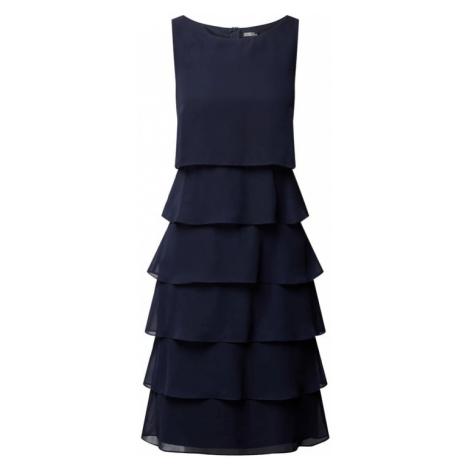Sukienka koktajlowa z szyfonu z efektem stopniowania Vera Mont