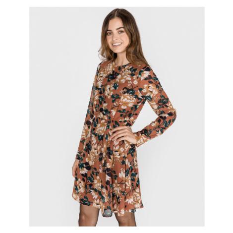 Vero Moda Wilma Sukienka Brązowy