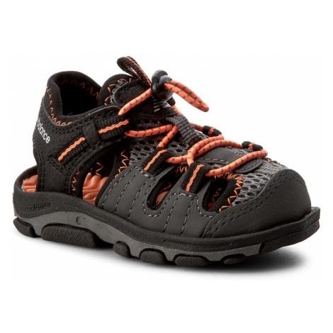 Sandały NEW BALANCE - K2029BON Black/Orange