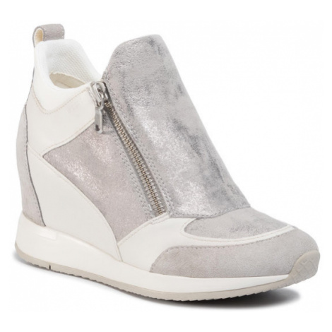 Geox Sneakersy D Nydame E D020QE 07722 C1010 Szary