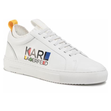 Sneakersy KARL LAGERFELD - KL51022 White Lthr