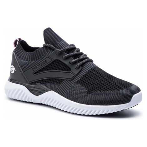 Sneakersy DOCKERS - 44SS002-700150 Black/White