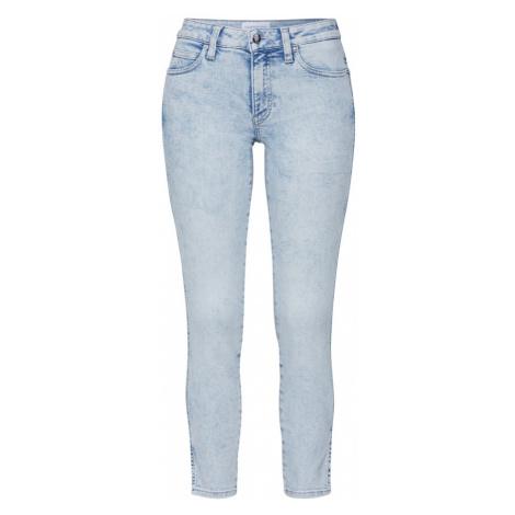 Calvin Klein Jeans Jeansy 'ANKLE' niebieski denim