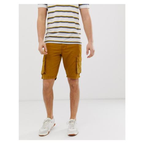 Bellfield cargo shorts in tan