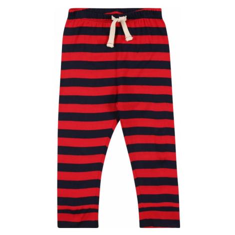 GAP Spodnie czerwony / czarny