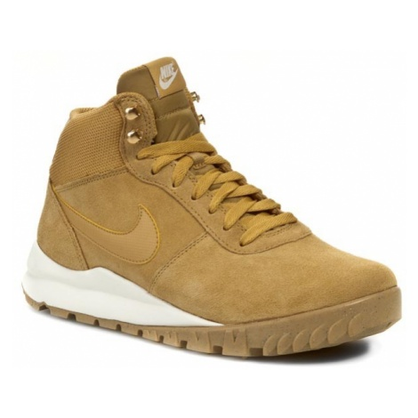 Buty NIKE - Hoodland Suede 654888 727 Haystock/ Light Brown/ Metallic Gold