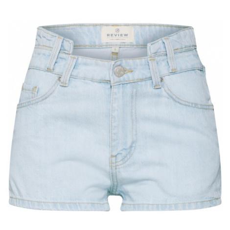 Review Spodnie jasnoniebieski