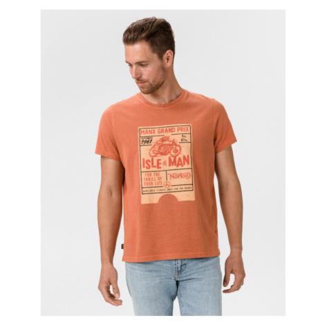Pepe Jeans Graf Koszulka Pomarańczowy