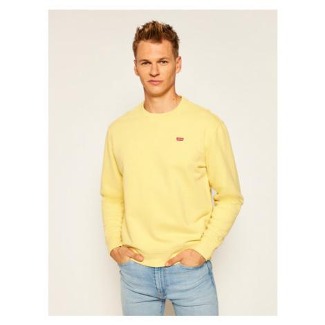 Levi's® Bluza New Original Crew 35909-0006 Żółty Regular Fit Levi´s