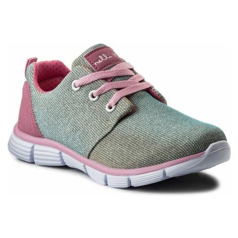 Sneakersy NELLI BLU - CP49-7312-1 Złoty