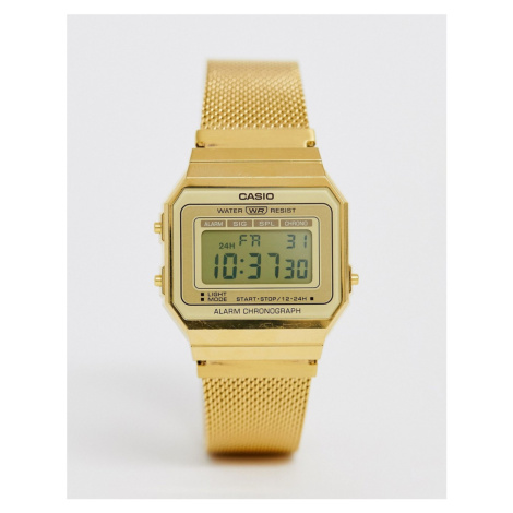 Casio Vintage Revival mesh watch