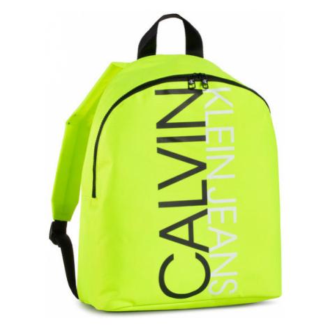 Calvin Klein Jeans Plecak Institutional Logo Backpack IU0IU00137 Żółty