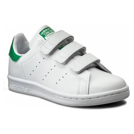 Buty adidas - Stan Smith Cf C M20607 Ftwwht/Ftwwht/Green