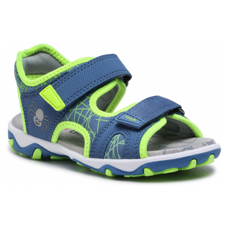 Sandały SUPERFIT - 1-009467-8010 S Blau/Gelb