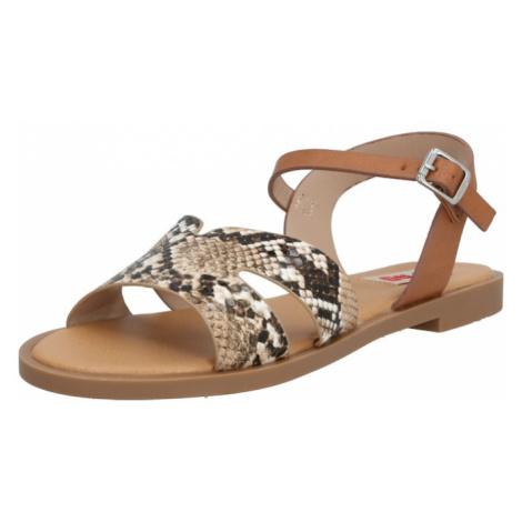 MTNG Sandały z rzemykami 'PALMIRA' jasnobrązowy