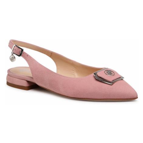 Solo Femme Sandały 24302-01-L76/000-05-00 Różowy