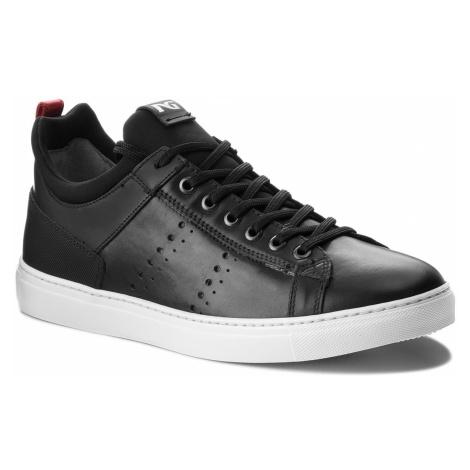 Sneakersy NERO GIARDINI - A800620U Caracas Nero 100