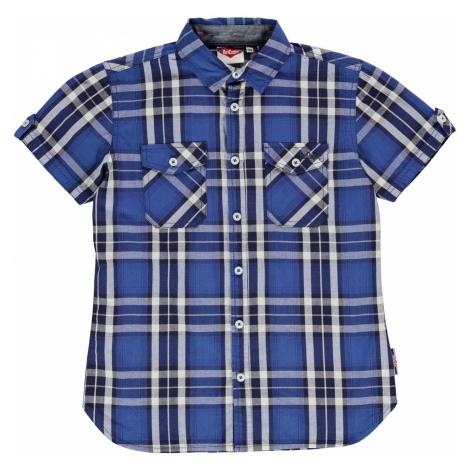 Lee Cooper C SS Check Shirt Jn00